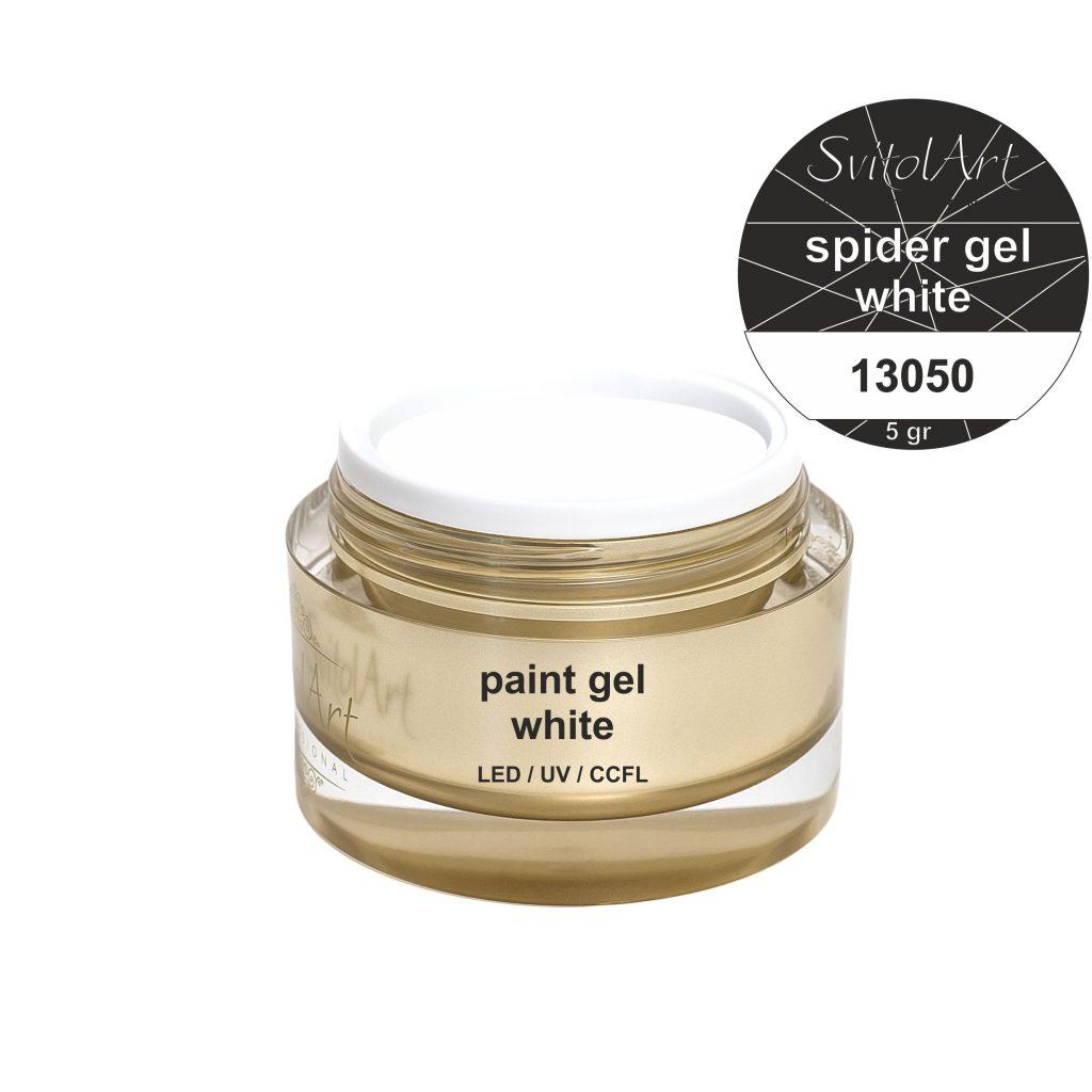 Spider gel white